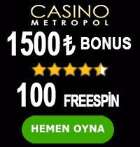 Casinometropol Tablosu
